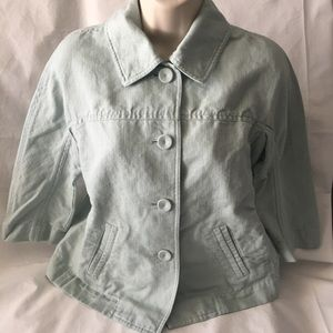 J.Jill Button Down Jacket